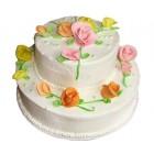 Торта Рози-два ет.