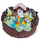 Детска торта с къщичка